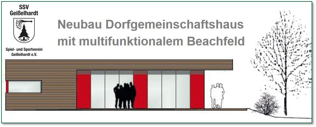 Bauvorhaben SSV Geißelhardt